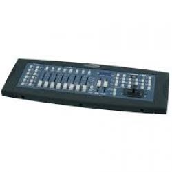 Mesa Controladora de Luzes Showtec Scanmaster 2 MKII - 192 canais - DMX