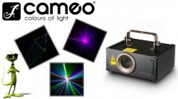 Laser Cameo Wookie 200 R Animation Laser - 200mW - vermelho - DMX
