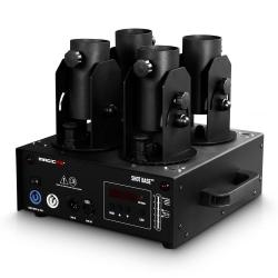 Maquina de Confettis MagicFX Shot Base - 4 saidas - output 20m3 - DMX