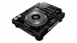 Leitor single Pioneer CDJ-850 K - CD-R/RW + USB + MP3 + AAC + AIFF + WAV + MIDI - preto