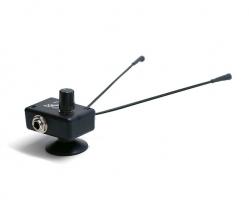 "2 Microfones Myers Pickups The Grip Plus 6"" Goosenecks - com extensoes maleaveis de 15 cm e ventosa"