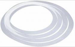 4 Aneis Abafadores de Bateria - Millenium Sound Control Ring Set Fusion - 10/12/14/14 polegadas