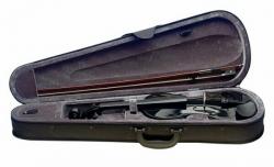 Mala para Violinos Acusticos ou Electricos - 4/4 - Stagg, Roth & Junius ou outra marca - preto