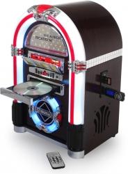 Jukebox Ricatech RR792 Leds RGB - CD + USB + MP3 + SD Cards + Radio + AUX + Comando
