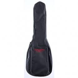 """Saco para Guitarra Music Store """"Basic"""" Gigbag Western Guitar (Concerto ou Classica) - almofadado 10mm - preto"""