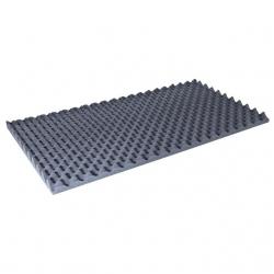 Placa de Isolamento Acustico Music Store - 100x50cm - 40mm de espessura - espuma/antracite