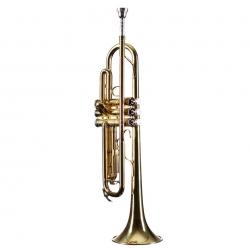 Trompete Monzani MZTR-133 Bb-Trompete Lackiert - SI bemol