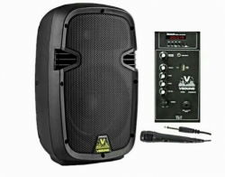 Coluna amplificada VSound VSSE8CTE - 150-300W - 8 polegadas - USB + MP3 + SD Cards + Bluetooth + Radio + Micro com Cabo