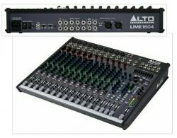 Mesa de Mistura Alto Live 1604 - 16 vias - USB + Efeitos