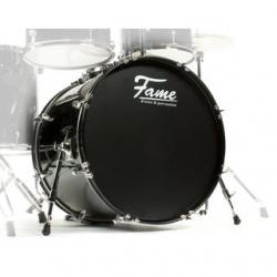 Bombo Fame Spark BassDrum - 22x16 polegadas - preto