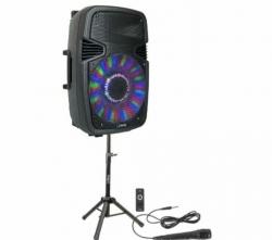 P.A. amplificado Party 15PACK - 800W - Coluna + Tripe + Micro