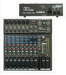 Mesa de Mistura T.Mix xmix 1202FX USB - 12 vias - Efeitos