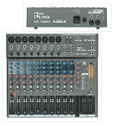 Mesa de Mistura T.Mix xmix 1402FX USB - 14 vias- Efeitos