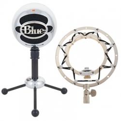 Microfone para Voz Blue Snowball Alu Ringer Bundle + Aranha