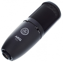 Microfone para Voz AKG P120 Perception - condensador de diafragma e cardioid