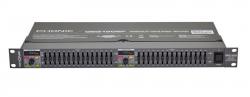 Equalizador grafico Phonic GEQ 1502 F - 2 x 15 bandas