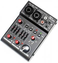 Mesa de Mistura T.Mix MicroMix 1 USB - 2 vias
