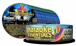 Coleccao de 27 CDG's Mr. Entertainer Karaoke Essentials I - 500 musicas estrangeiras