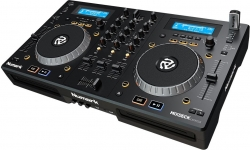 Leitor duplo + Mesa Numark Mixdeck Express Black - 2 CD + 3 USB + MP3 + MIDI