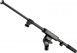 Braco transversal para Tripes de Microfone ou Suportes de Teclados - extensivel/recolhivel - preto