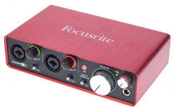Interface de Audio Focusrite Scarlett 2i2 2nd Gen - USB
