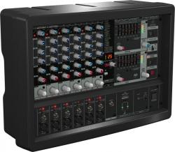 Cabeca-Mesa amplificada Behringer PMP 560M Europower - 500W - 6 vias - Efeitos + Equalizacao geral