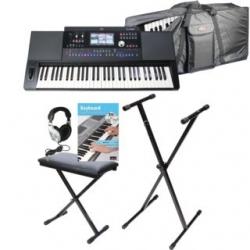 Teclado Fame G2000 Complete - Set + Banco + Saco + Suporte + Headphones + Livro