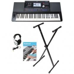 Teclado Fame G2000 Standard - Set + Suporte + Headphones + Livro