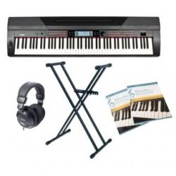 Piano Digital Fame Stage SP-4 Home - Set + Suporte + Headphones + Livros