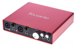 Interface de Audio Focusrite Scarlett 6i6 2nd Gen - USB + MIDI