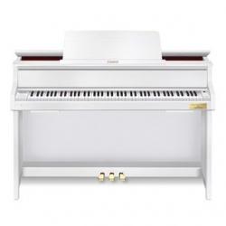 Piano Vertical Acustico Casio GP-300 BK/WE - Silent & Anytime com funcao mute - 88 teclas - em preto ou branco