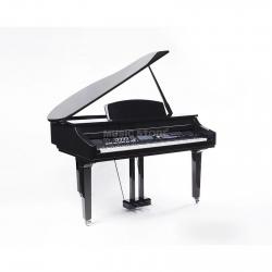Piano de Cauda Digital Fame Grand 3000 Digitalpiano - 1/4 Cauda - 88 teclas - em preto