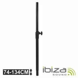 Barra distanciadora de Sub para Top - Ibiza SAT-BAR - 35mm - com regulacao - sobe 1,34m - suporta 50Kg