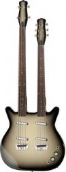 Guitarra/Baixo Danelectro DB604 - braco duplo - black burst