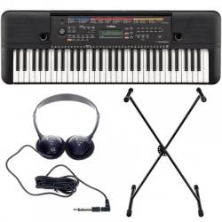 Teclado Yamaha PSR-E263 Set + Suporte + Headphones