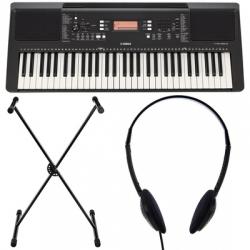 Teclado Yamaha PSR-E363 Set + Suporte + Headphones