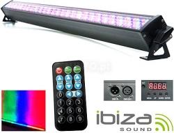 Barra de Leds Ibiza LEDBAR252-RC - 240 Leds de 10mm - 50W - RGB - DMX