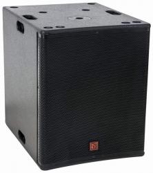 Subgrave amplificado BST FIRST-SA12SDSP2 - 1.600W - 12 polegadas - DSP - biamplificacao