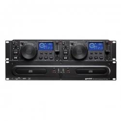 Leitor duplo Gemini CDX-2250i - 2 CD + 2 USB + MP3