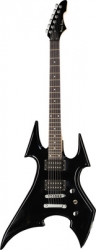 Guitarra Harley Benton BS-20BK Rock Series