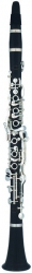 Clarinete Oscar Adler & Co. 322A - LA - sistema Alemao - 22 chaves e 6 aneis