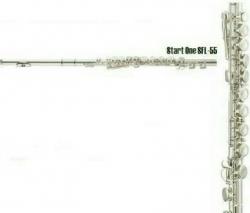 Flauta Transversal Startone SFL-55 - chaves fechadas - prateado