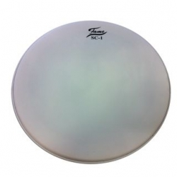 """Pele para Bombo Fame SC1 20"""" Coated White - 20 polegadas - exterior - branco"""