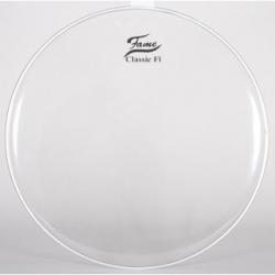 Pele para Bombo Fame Classic F1 - 20 polegadas - interior - transparente