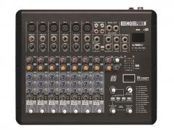 Mesa de Mistura HQ Power HQMX10002 - 8 vias - Efeitos + USB + MP3