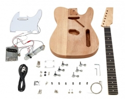 Kit de Montagem de Guitarra Electrica Harley Benton Electric Guitar Kit T-Style - Telecaster Style