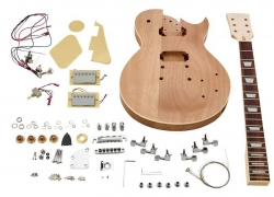 Kit de Montagem de Guitarra Electrica Harley Benton Electric Guitar Kit Single Cut Style - LP Style