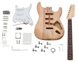 Kit de Montagem de Guitarra Electrica Harley Benton Electric Guitar Kit ST-Style - Stratocaster Style