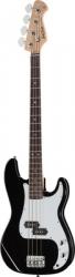 Baixo Harley Benton PB-20 BK Standard Series - 4 cordas - Precision Bass style - preto