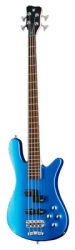 Baixo Warwick RockBass Streamer LX 4 MRH/MBH - 4 cordas - azul ou vermelho